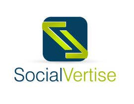 #230 per Logo Design for Socialvertise da QuickWeaver