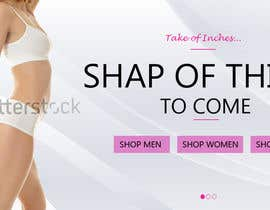 graphicwindow15 tarafından Design a Banner / responsive Slider / header for my waist trainer Homepage için no 4