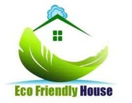 #55 untuk Eco Friendly House Logo Design oleh softdesignview