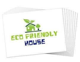 #96 para Eco Friendly House Logo Design por softdesignview