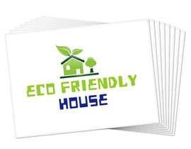 #96 untuk Eco Friendly House Logo Design oleh softdesignview