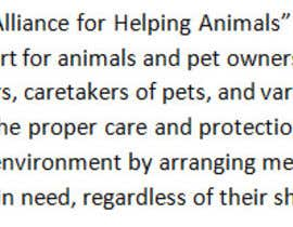 "#19 untuk Write a description of ""Alliance for Helping Animals"" oleh ulcerrhoea"