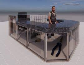 #4 cho rendering 3D for Modern commercial island phone repairs. bởi bilro