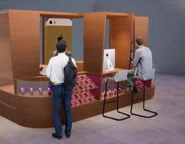 #19 cho rendering 3D for Modern commercial island phone repairs. bởi dellabiancard2