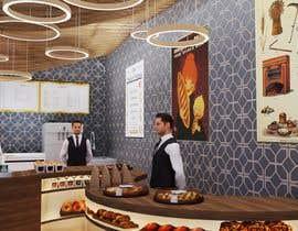 Nro 54 kilpailuun Interior and exterior Design for a coffee shop käyttäjältä riteshkatariya
