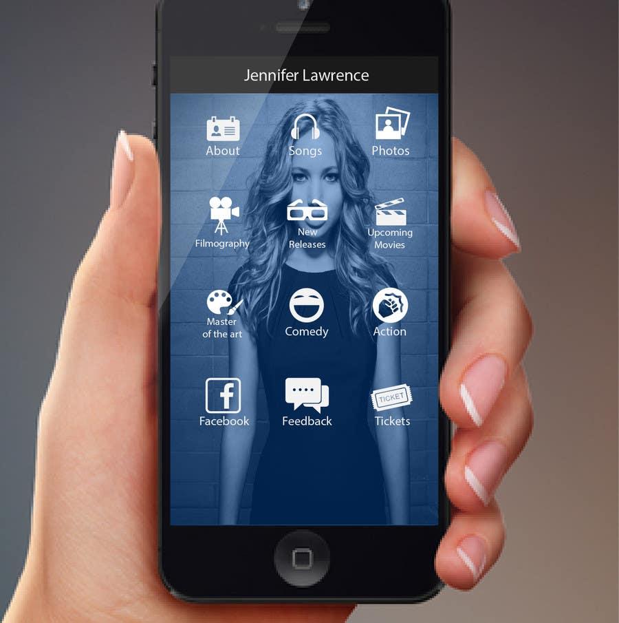 Konkurrenceindlæg #                                        40                                      for                                         Improve an App Home Screen Mockup