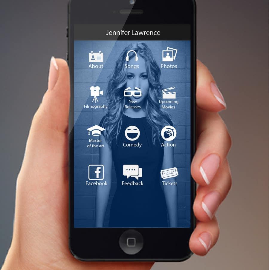 Konkurrenceindlæg #                                        44                                      for                                         Improve an App Home Screen Mockup
