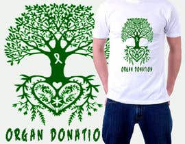 #2 untuk Design a T-Shirt for organ donation oleh lounissess