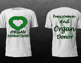 #4 untuk Design a T-Shirt for organ donation oleh dilukachinda
