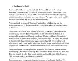 nº 46 pour Content Writing For CBSE SCHOOL website par pdeb85