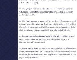nº 43 pour Content Writing For CBSE SCHOOL website par MERUSCAPE