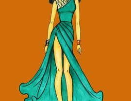 #3 untuk I want a tech pack design of a dress. oleh sonalkaramchand7
