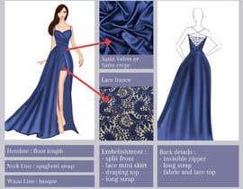 #47 untuk I want a tech pack design of a dress. oleh mirawulan1515