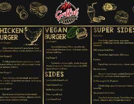 #45 for Design Me A Menu For My Burger Store af AjayKumarlolla98