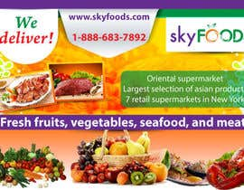tesspearl tarafından Design a Flyer for asian online supermarket için no 2