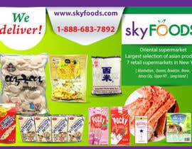 tesspearl tarafından Design a Flyer for asian online supermarket için no 20