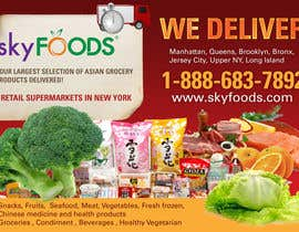 silvi86 tarafından Design a Flyer for asian online supermarket için no 32