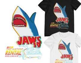#11 untuk BAck to the future 2 JAws 19 Holographic Shark Tee Shirt Design oleh monfaji