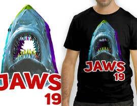 #24 untuk BAck to the future 2 JAws 19 Holographic Shark Tee Shirt Design oleh antoniustoni