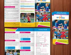 nº 8 pour An attractive, Modern, Eye Catching Tri Fold Brochure par hello3colors