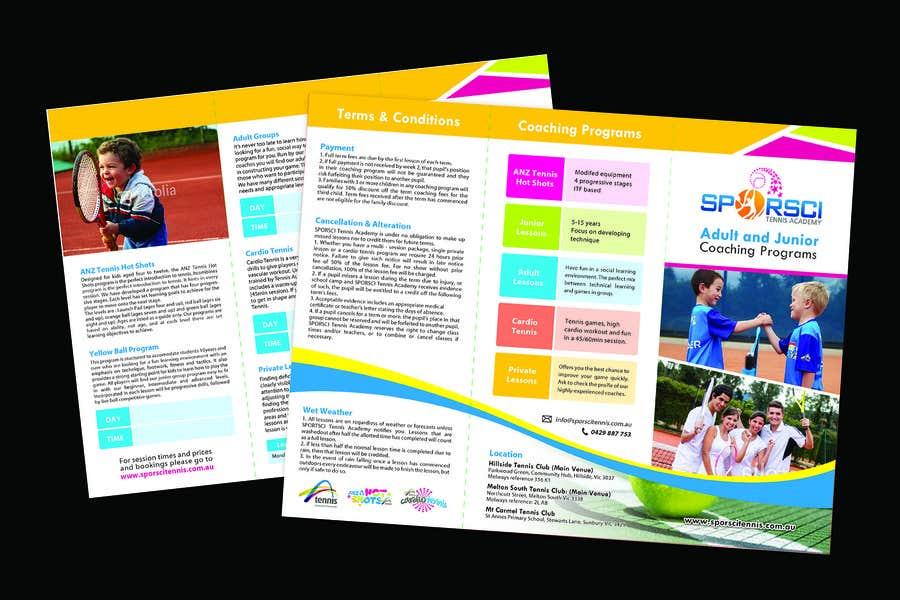 Bài tham dự cuộc thi #4 cho An attractive, Modern, Eye Catching Tri Fold Brochure