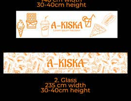 #126 for Illustration, images or Design for window tape by shakil143s