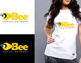 #48 для Logo Design for Logo design social networking. Bee.Textual.Illustrative.Iconic от twindesigner