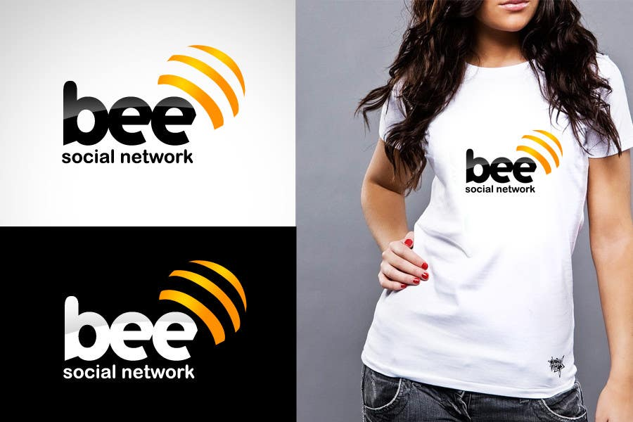 #135 for Logo Design for Logo design social networking. Bee.Textual.Illustrative.Iconic by twindesigner