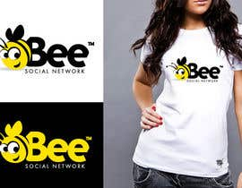 #113 для Logo Design for Logo design social networking. Bee.Textual.Illustrative.Iconic от twindesigner