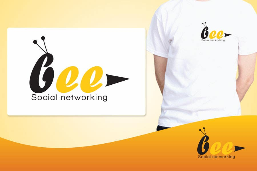 #155 for Logo Design for Logo design social networking. Bee.Textual.Illustrative.Iconic by ulogo