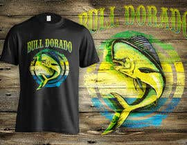 #16 cho Bull Dorado for a fishing shirt. bởi dsgrapiko