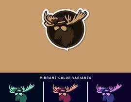 #53 dla Undercover Moose Sticker przez XilawDesigns
