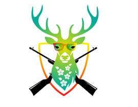 #45 dla Undercover Moose Sticker przez mehedishakil2000