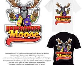 #54 dla Undercover Moose Sticker przez rockztah89
