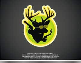 #37 dla Undercover Moose Sticker przez SAKTI2