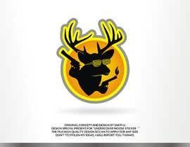 #39 dla Undercover Moose Sticker przez SAKTI2