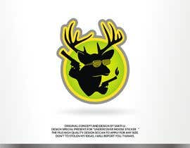 #40 dla Undercover Moose Sticker przez SAKTI2
