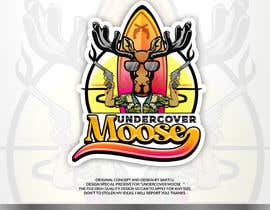#76 for Undercover Moose Sticker by SAKTI2