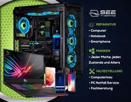 #19 untuk Design poster A1 for a computer company oleh meduasf