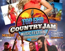 #66 for Create Posters for a Country Jam by xetus