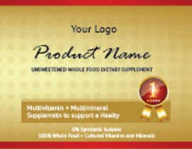 nº 16 pour Design a label for a nutritional product par adnandesign043