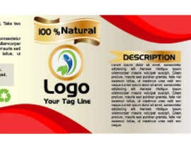 nº 8 pour Design a label for a nutritional product par satpalsood