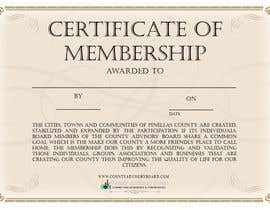#2 for Design a membership certificate af TheGangsterPanda