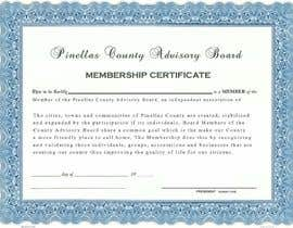 #10 for Design a membership certificate by tanzeelhussain