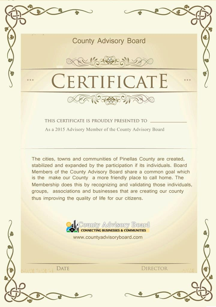 Contest Entry #                                        20                                      for                                         Design a membership certificate