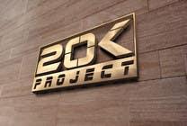 """Graphic Design Inscrição do Concurso Nº321 para Design a Logo for """"20K PROJECT"""""""