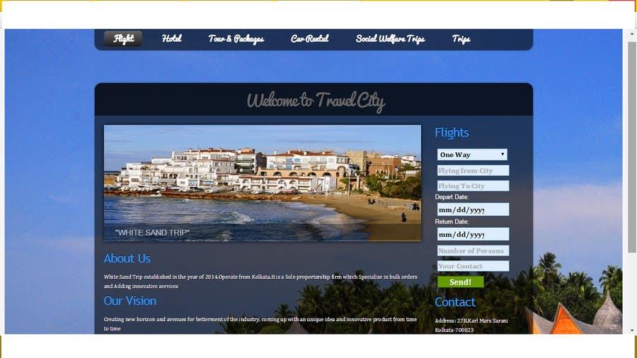 Konkurrenceindlæg #                                        1                                      for                                         Design a Website Mockup for City Travelling Guide