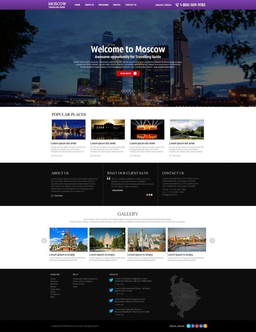 Konkurrenceindlæg #                                        7                                      for                                         Design a Website Mockup for City Travelling Guide