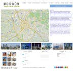 Proposition n° 5 du concours Graphic Design pour Design a Website Mockup for City Travelling Guide