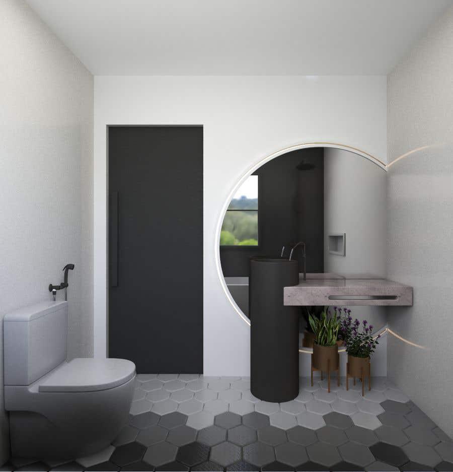 Proposition n°                                        44                                      du concours                                         Bathroom design
